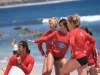 Instructores de surf