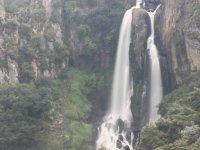 Spectacular fall of the Cascada Tulimán