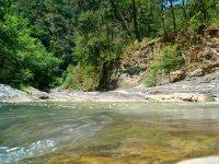 Tenexapa River in Tuliman Waterfalls