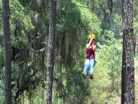 Enjoy this zip-line adventure
