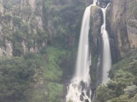 Spectacular fall of the Talimán Waterfall