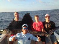 pescas en familia