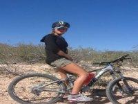 Ciclismo en el desierto