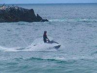 Jet ski individual