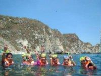snorkel y diversión