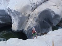 Rappelling in Huatulco