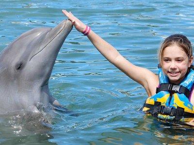 Yalku Tours Nado con delfines