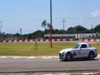 Drive on the track