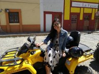 Tour of the town by ATV