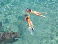 Snorkel con amigas