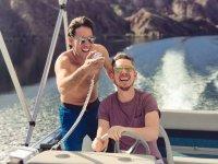 Enjoy the boat rides