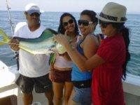 Pesca con el monitor