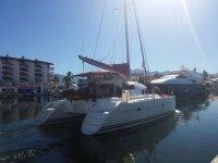 Catamaran in Puerto Vallarta