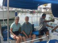 Sentados para navegar en Puerto Vallarta