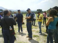 De ruta en la zona arqueologica