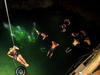 Cenote rappel