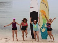 Emocionate con el paddle surf