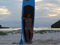 Paddle surf equipment