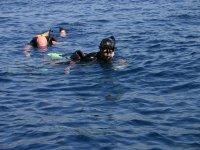 Admira la belleza marina