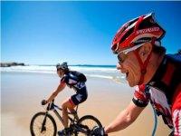 Recorrido en bicicleta de montaña