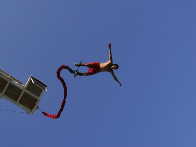 Bungee in Cancún