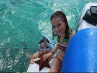 Snorkeleando en familia