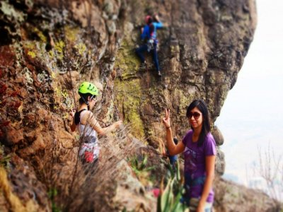 5h rock climbing in Mexico City
