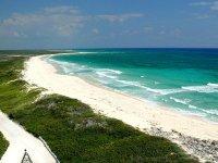 Mar azul turquesa de Cozumel