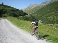 Cycling through slope