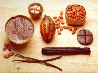 Cacao y vainilla.