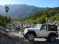Viaje en jeep