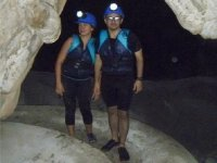 canyoning as a couple