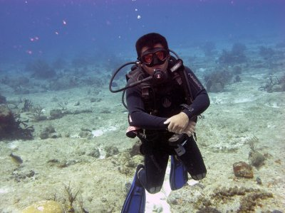 Dive with Julio