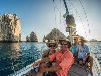 Viajando en barco en Baja California