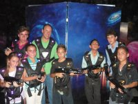 group of lazer game