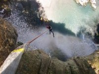 Exciting rappelling