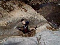 Sliding on rock