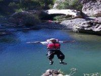 Adventure canyoning