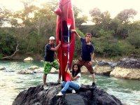kayaks in Veracruz