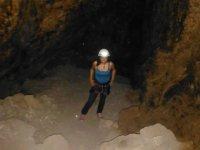 exploring caves