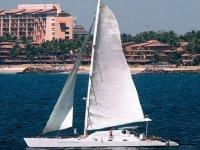 catamaran en puerto vallarta