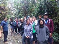 camp in nature