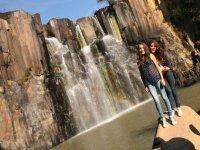 Walks to the waterfall