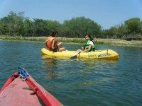 Kayakeando en Vera