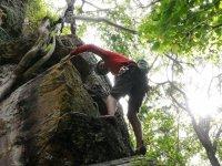Climbing in Morelia