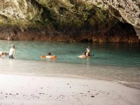 Enjoying a day of snorkeling in the Marietas Islands
