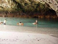 Disfrutando de un día de snorkel en Islas Marietas