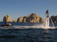 Flyboard ene l mar de cortes