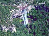 Water hole waterfall