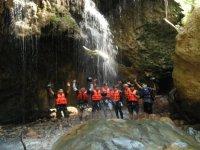 Waterfalls and canyoning